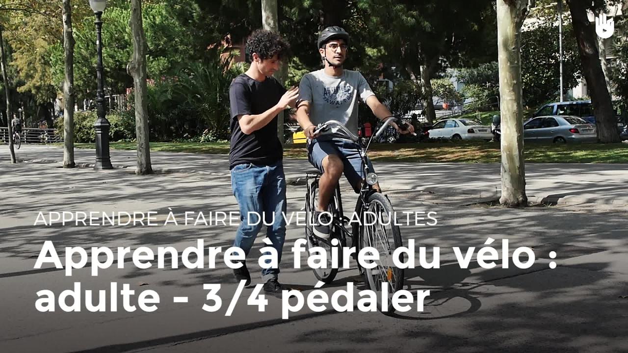 apprendre à faire du vélo