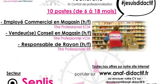 magasin recrutement