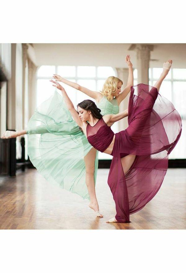 tenue de danse moderne