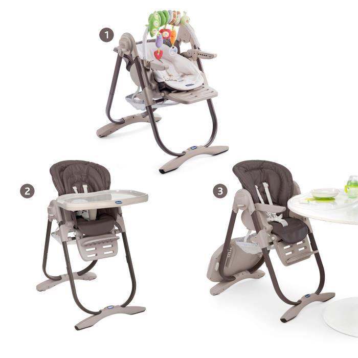 chaise haute transat chicco
