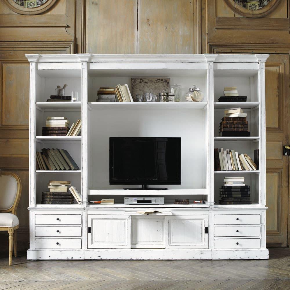 meuble bibliothèque tv