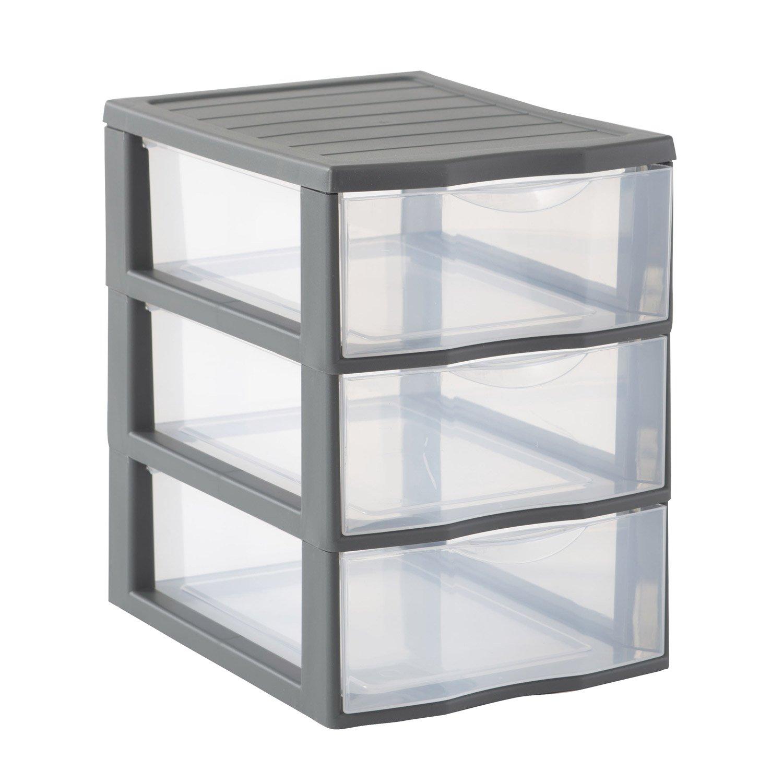 meuble tiroir plastique